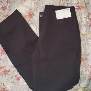 Arizona School Girl Straight Black Pants